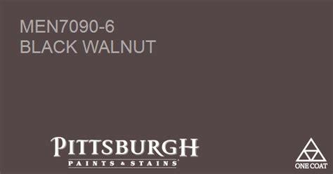 paint color black walnut