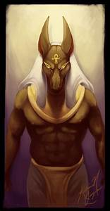 Egyptian God of Embalming by NoSafeHaven on DeviantArt
