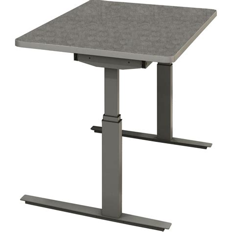 mayline rge 60 inch by 30 inch electric height adjustable desk ebay