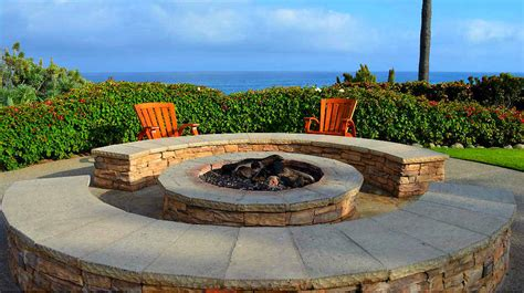 27 Fire Pit Ideas And Designs To Improve Your Backyard Johnny Bench Holding Baseballs Shoe Benches Entryway Plans For Potting Dining Table Cylinder Head Flow Beds Glute Ham Raise Memorial Granite