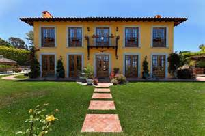 Hacienda Style Houses by Colonial Hacienda Style Home With A Touch Of
