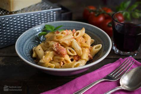 creme fraiche cuisine pasta mit tomaten crème fraîche madame cuisine