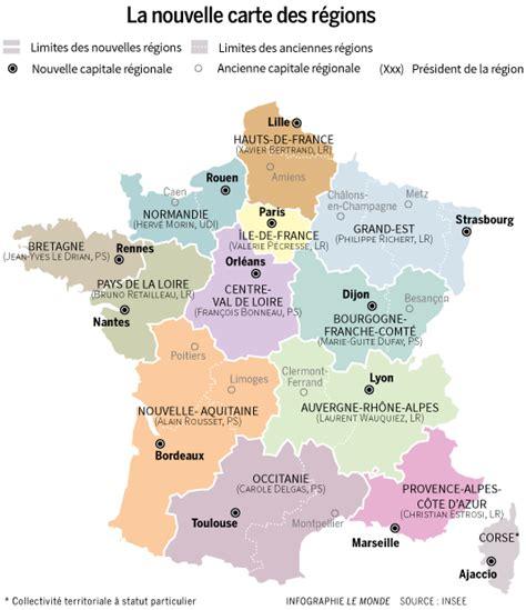 Nouvelle Carte De Par Region by Ces Nouvelles R 233 Gions En Qu 234 Te D Identit 233