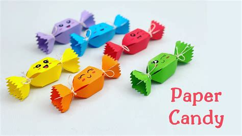 easy mini paper candy paper craft paper