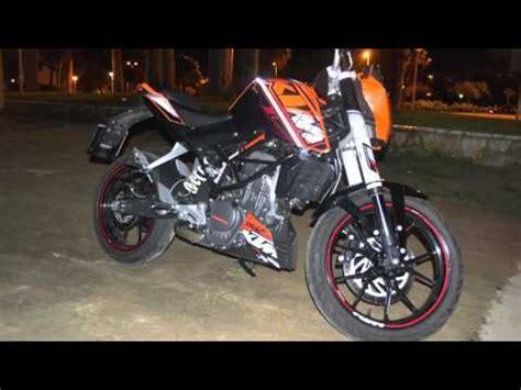 ktm duke 125 racing preview anteprima racing kit with