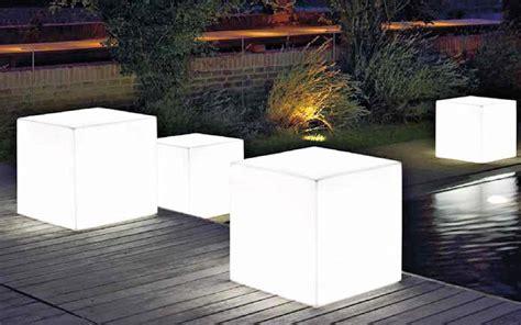 Illuminazione Led Da Esterno by Lade Da Esterno Quot Vaso Cubo Lighting Quot Outlet Mobile