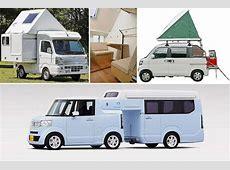 Honda NCamp und Co KeiCamper aus Japan autobildde