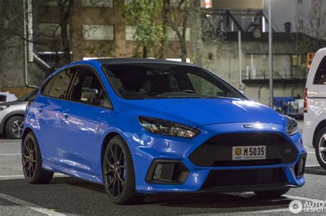 Ford Performance Focus Rs by Ford Focus Rs Performance Limited Edition 2018 27