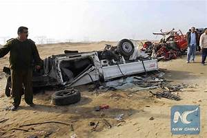 16 killed in cars chain collision in southern Egypt ...