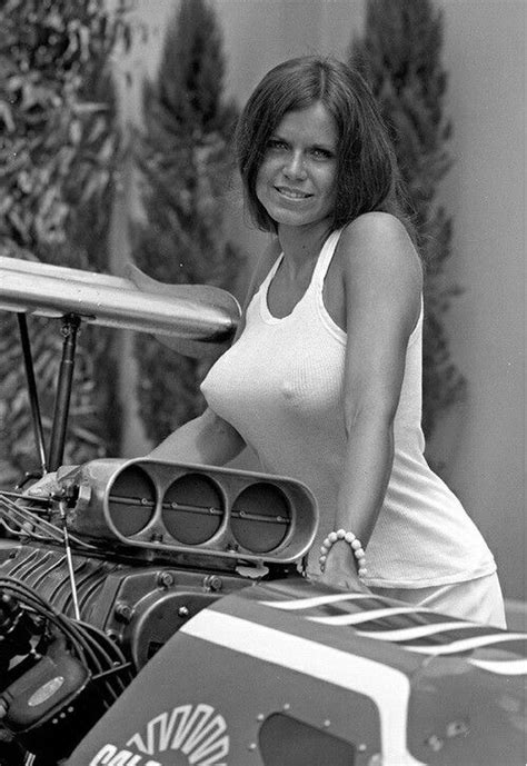 Barbara Roufs The Race Queen Vintage Classic Cars And