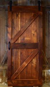 barn door made entirely out of reclaimed barn wood by www With barnwood crafts for sale