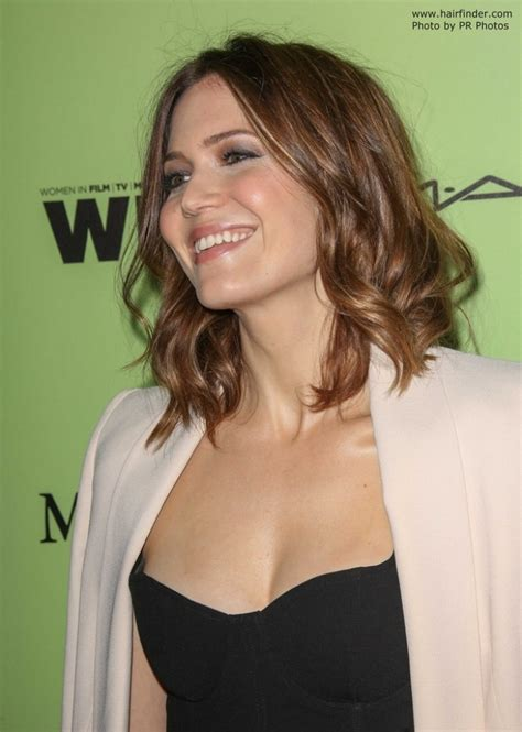 mandy moore long curly bob   hair cut   shoulders