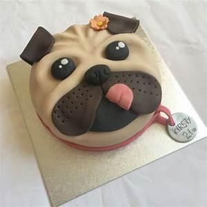 1000 images about pug dog cakes cupcakes on pinterest With dog birthday cake houston