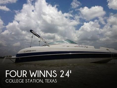 Boat Dealers In College Station Tx by Sold Four Winns 234 Funship Boat In College Station Tx