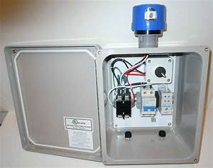 Lighting Control Panel - Contactor Box - Twist-lock Photocell Socket