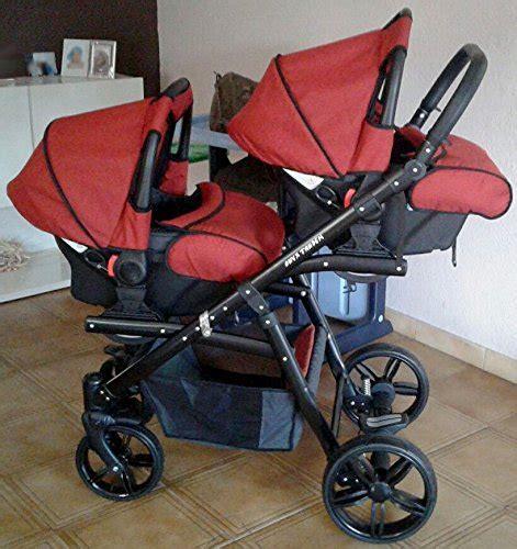 siege auto jumeaux poussette pour jumeaux complète 3 pièces sièges nacelles