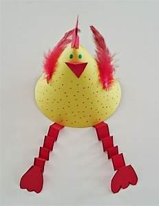 Bricolage De Paques : bricolage fabriquer une poule en papier pour p ques ~ Melissatoandfro.com Idées de Décoration