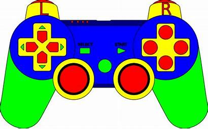 Controller Ps3 Clip Clipart Drawing Gaming Vector