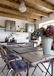 carrelage metro pour renover une cuisine de campagne With carrelage maison de campagne