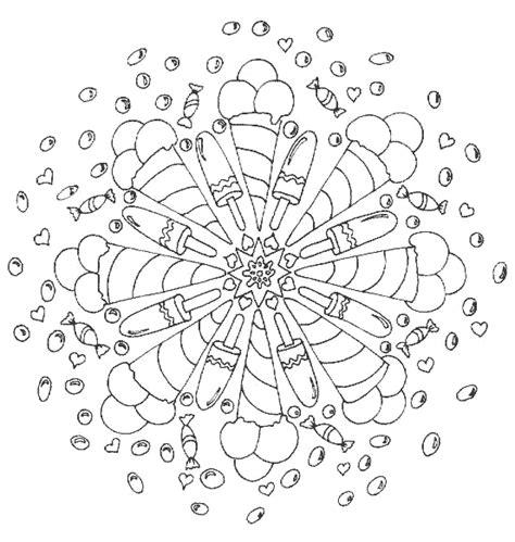 Kleurplaat Spijkers En Verf by Ijsjes Kleurplaten Mandala Mandala Kleurplaten