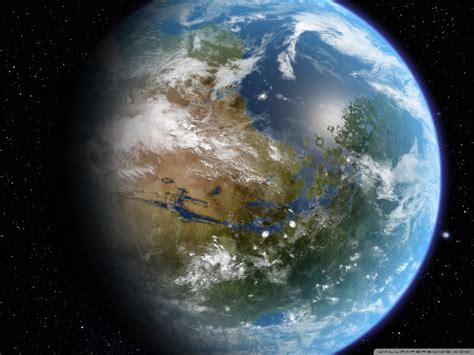 A Planet Like Earth 4k Hd Desktop Wallpaper For