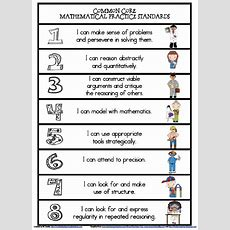 Mrs Lirette's Learning Detectives Mathematical Practice Standards {free}