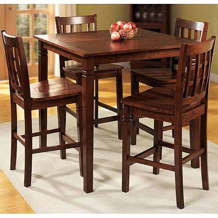 kitchen tables walmart home trends 5pc counter height dining set walmart