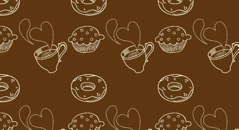 coffee background patterns  printable digital papers