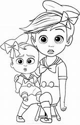 Boss Baby Coloring Pages Printable sketch template