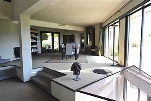 terrasse de maison contemporaine menuiserie With terrasse de maison contemporaine