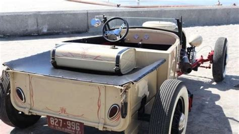 1927 Ford Model T 'rat Rod' Style Roadster Steel Frame