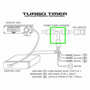 Hks Turbo Timer Harness Nt