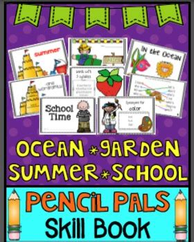 Ocean, Summer, Garden, School Mini Book By Teach123