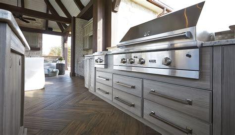 weatherproof outdoor summer kitchen cabinets
