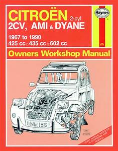Citroen 2cv  Ami And Dyane 1967