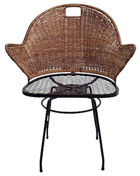 rattan swivel desk chair mid century 1960 39 s rattan swivel desk chair 700 est