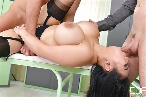 Large Titted Student Gets And Italian