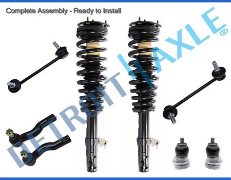 06-09 Ford Fusion 3.0l Milan 8pc Front Strut Ball Joint