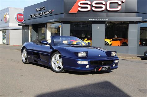 A ferrari is not for the understated nor is it an ostentatious choice.& a ferrari is. Used 1999 Ferrari F355 3.5 Spider 2dr for sale in West Yorkshire   Pistonheads