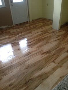 The final finish of the plywood floor , love only cost
