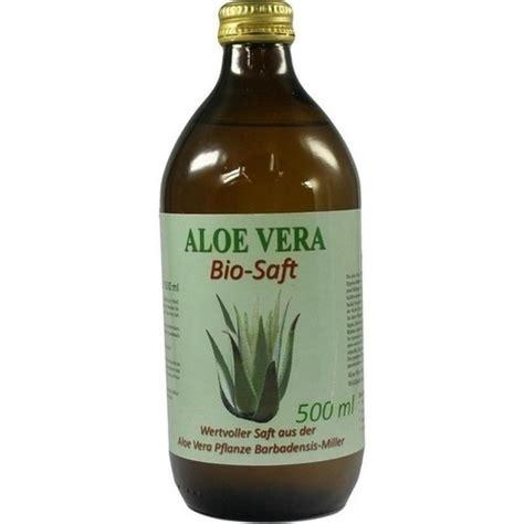 bio aloe vera saft  vitamin  exclidapothe  ml