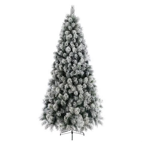 kaemingk everlands snowy vancouver mixed pine 6ft 1 8m christmas tree 689131 bosworths