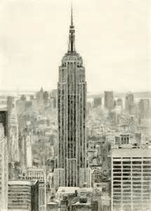 Empire State Building Sketch Pictures To Pin On Pinterest