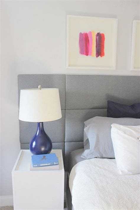 diy panel tufted headboard     bed headboard