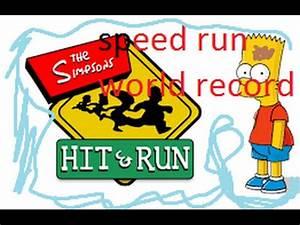 Simpsons Hit and run speed run world record 2:50 ...