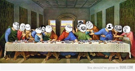Last Supper Meme - meme last supper laughing at religion pinterest