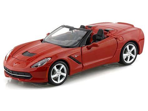 2014 corvette stingray diecast c7 corvette convertible 1 24 die cast chevymall