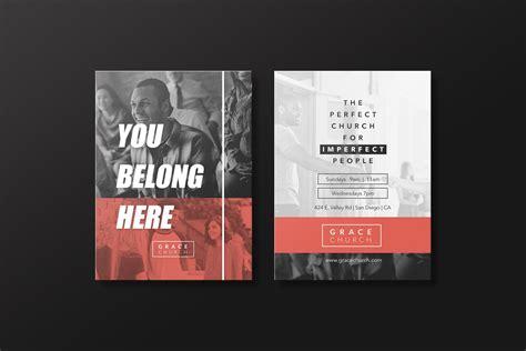 church essentials invite card invitation templates