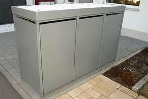 Mülltonnenbox Mit Paketbox : m lltonnenbox alu m lltonnenbox aluminium von zaun ~ Michelbontemps.com Haus und Dekorationen