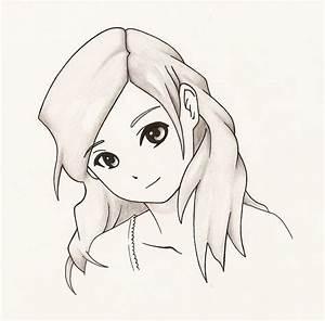 Anime girl smile by jaldridge1 on DeviantArt